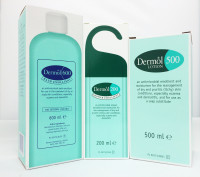 Dermol combi pack: Bath Emollient, Shower Emollient and Lotion